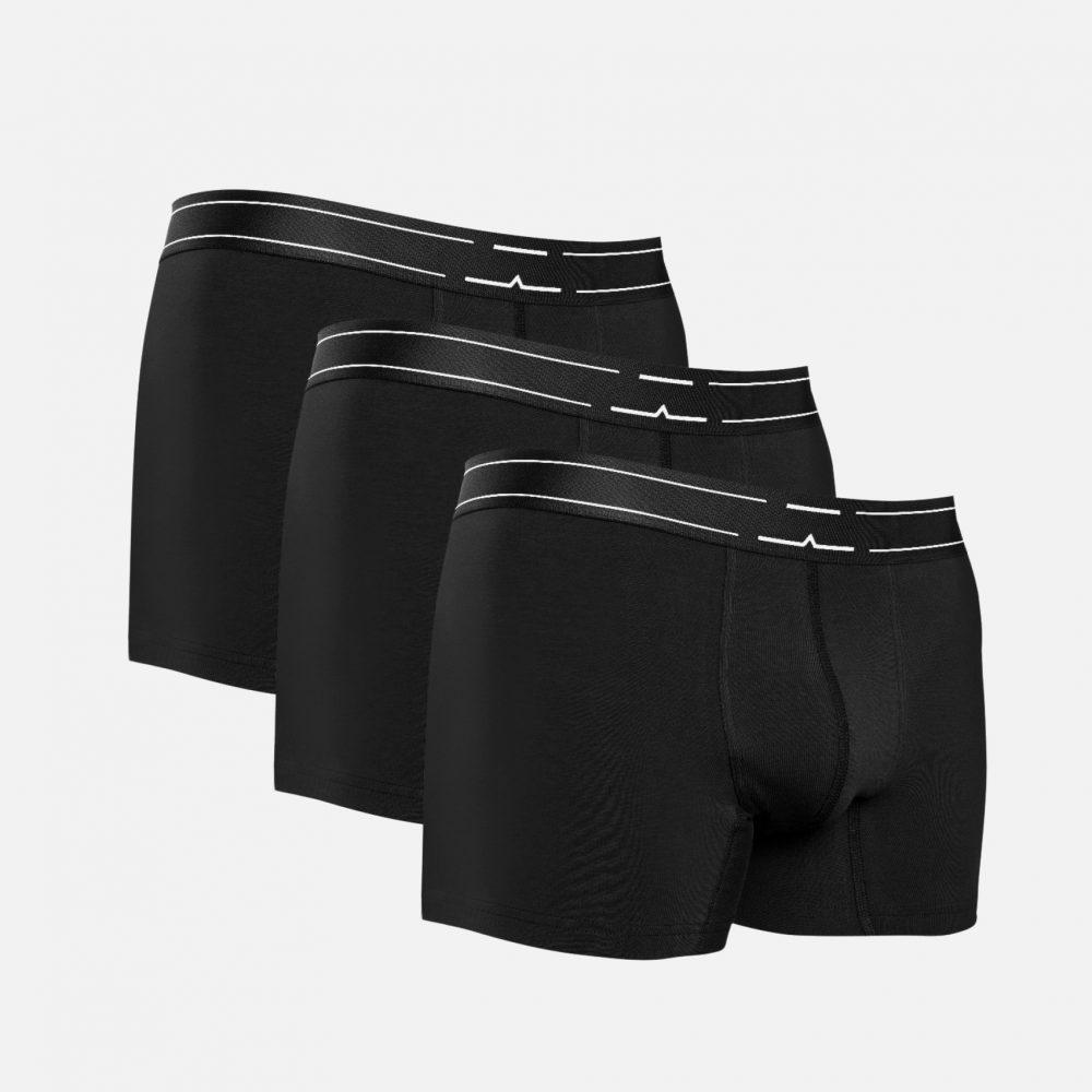 3-pack black